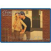 Рекламный планшет интерьерный из ПВХ 5 мм фото