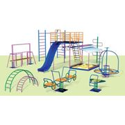 Создание детских и спортивных площадок фото