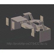 Разработка сложных 3D моделей для прототипирования