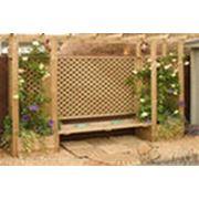 Пергола решетка деревянная фото