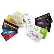 Изготовление дисконтных и пластиковых карт