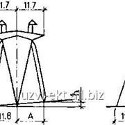 Опора ВЛ 500 кВ ПП500-1-IV