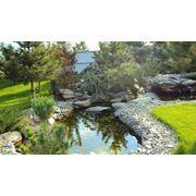 Ландшафтный дизайн.Озеленение.Продажа натурального камня. фото