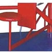 Сиденье поворотное для ринга (цвет: синий, красный) фото