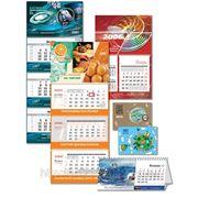 Печать календарей в Краснодаре, квартальные календари