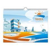 Настенный календарь перекидной