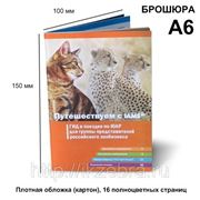 Брошюра А6, плотная обложка, 16 страниц фото