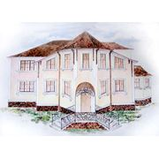 Эскизное проектирование дизайна фасадов и интерьеров. фото