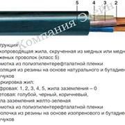 Кабель гибкий КГ 5х4 фото