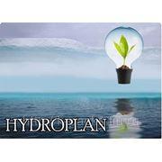 HYDROPLAN - наклейки прямоугольные 5х4 см. фото