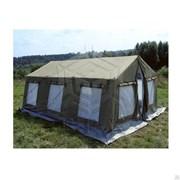 Памир 8. Палатка для полевых условий, летняя ( внешний тент - ткань ПВХ) фото