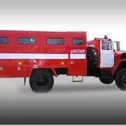 Автомобиль пожарный рукавный АР-2 Урал-43206 фото