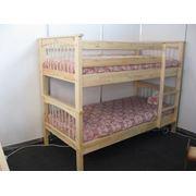 Кровать деревянная двухъярусная Т016-01 Копенгаген фото