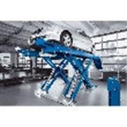 Подъемник ножничный г/п 4000 кг напольный, платформы для сход-развала. Nussbaum (Германия) фото