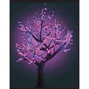 Деревья светодиодные комнатные фото