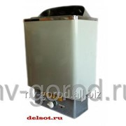 Электрокаменка для бани, сауны (3 кВт; 220 В; 3,6-5 куб.м) с встроенным ПУ фото