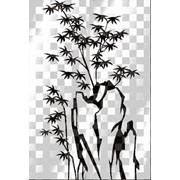 Обработка пескоструйная на 2 стекло артикул 104-11 фото