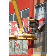 Монтаж, реставрация, демонтаж рекламных конструкций любых размеров и сложности фото