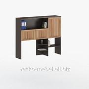 Надстройка для стола, Васко СОЛО-026 Корпус венге, фасад слива/слива фото