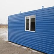 Модульное здание МЕ-1 9х2,4м. фото