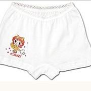 Трусы-шорты для девочек, белье детское фото