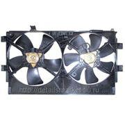 Мотор и вентилятор радиатора охлаждения двойной для mitsubishi lancer 10 фото