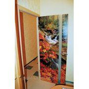 Печать на дверях фото