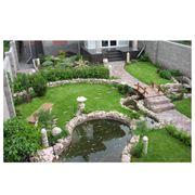 Строительство декоративных прудов и водоемов фото