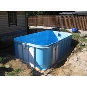 Строительство и монтаж бассейнов фото