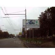 Рекламные щит ул. Тухачевского фото