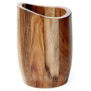 Стакан для зубной пасты acacia wood (857755) фото