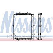 Радиатор охлаждения 62342 NISSENS IVECO EUROSTAR E.42-E.52 92- фото