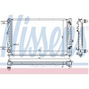 Радиатор системы охлаждения\ Audi A4/A6, VW Passat 98> фото