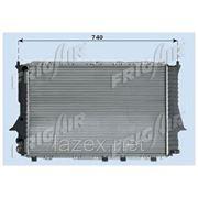 Радиатор системы охлаждения\ Audi 100/A6 2.0-2.5TDi 90-97 фото