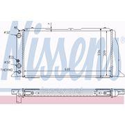 Радиатор системы охлаждения\ Audi 80 1.6-1.9D 86-91 фото