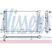 Радиатор системы охлаждения\ Audi A4/A6,VW Passat 1.6-1.9TDi 95> фото