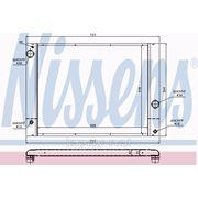 Радиатор системы охлаждения АКПП\ BMW E60/E61/E63 2.0-3.0 05> фото