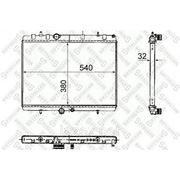 Радиатор системы охлаждения АКПП\ Peugeot 407, Citroen C5 2.0 04> фото