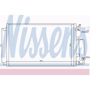Радиатор кондиционера 1.6 для Nissan Quashqai с 2007 г фото