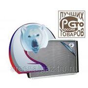 """Радиатор охлаждения УАЗ-3163 2008-10 г, двигатель ЗМЗ-409, IVEKO (под кондиционер, алюминиевый) """"ШААЗ"""" фото"""