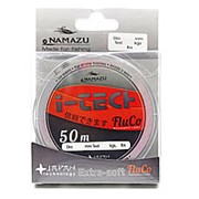 """Леска Namazu """"I-Tech Fluco"""", L-50 м, d-0,181 мм, test-2,59 кг, прозрачная/10/400/ фото"""