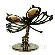 Фигурка декоративная бабочка 6*4см (715268) фото