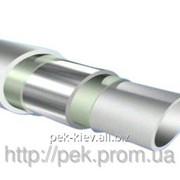 Полипропиленовая труба для горячего водоснабжения и отопления штаби d=90х15 мм фото