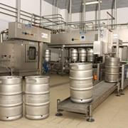 Розлив пива в Кеги фото