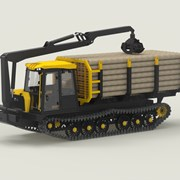 Форвардер МТБ-18 гусеничный трактор Барнаул фото