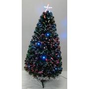 Искусственная новогодняя елка со светодиодами 90 см фото