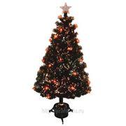 Искусственная елка новогодняя Световод с красными звездами 120 см фото