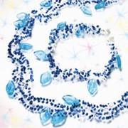 Набор для изготовления ожерелья и браслета Мерцание фото