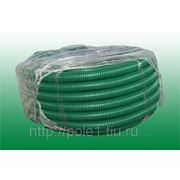 Шланг поливочный ПВД зеленый D25, 25 м. фото