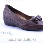77063cf4b Женская ортопедическая обувь с супинатором 18040 Forelli коричн фото